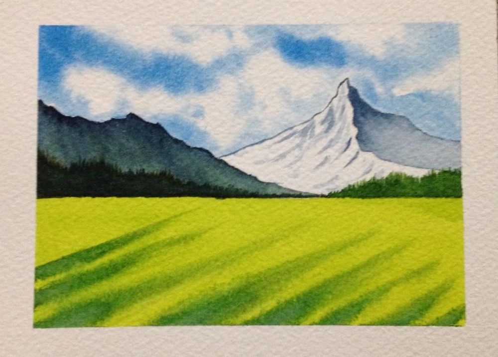 Watercolor Masterclass Landscapes - image 1 - student project