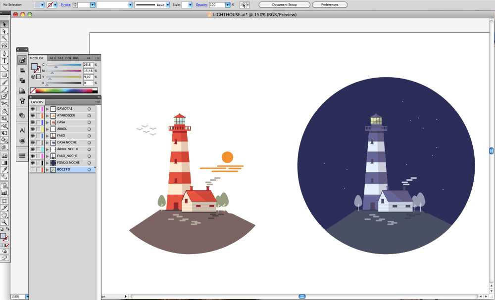 The lighthouse  - image 6 - student project