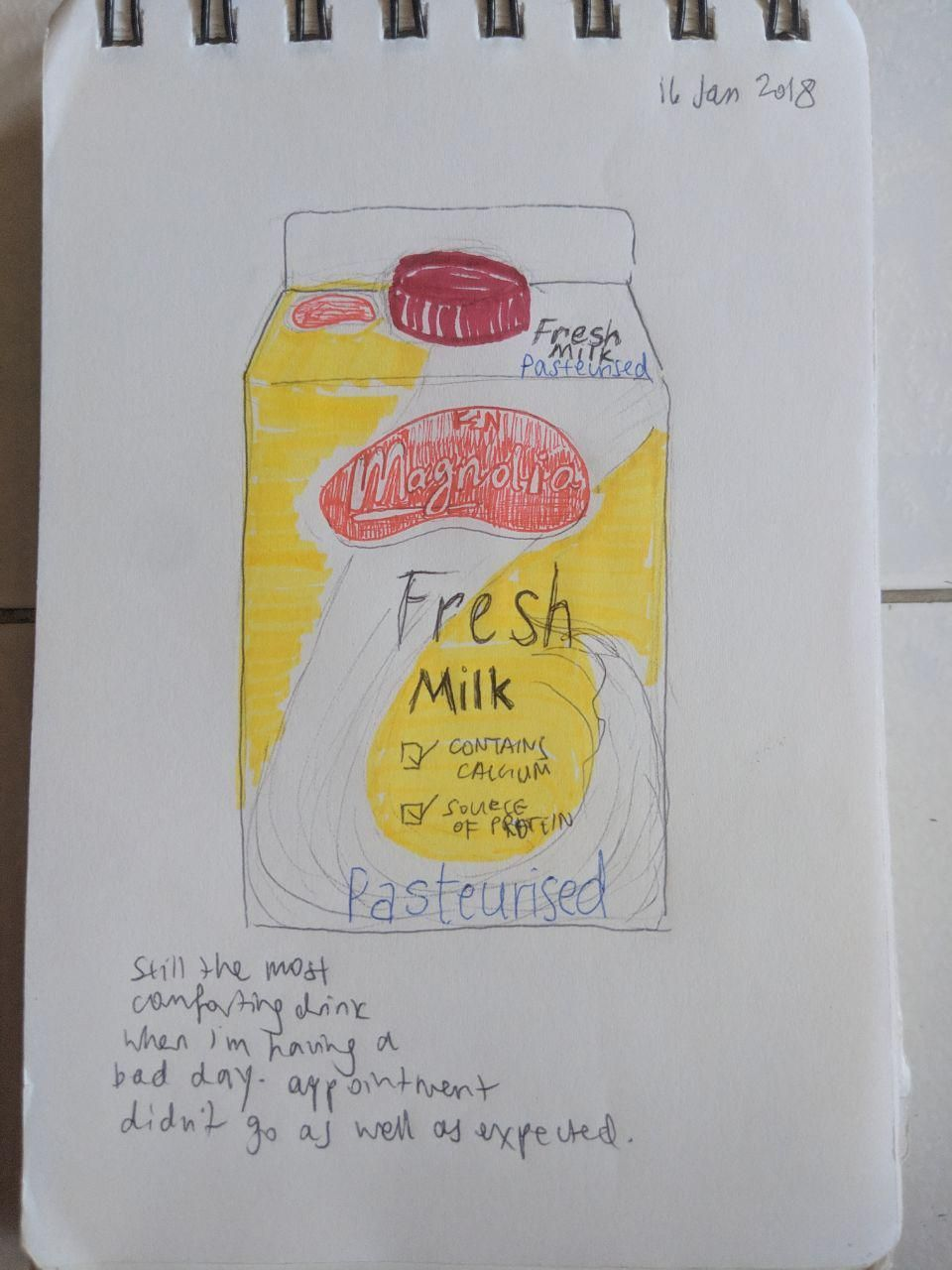 first try at journalling - image 1 - student project