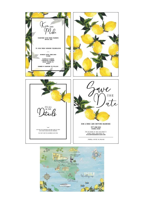 Sicilian Wedding Map - image 29 - student project