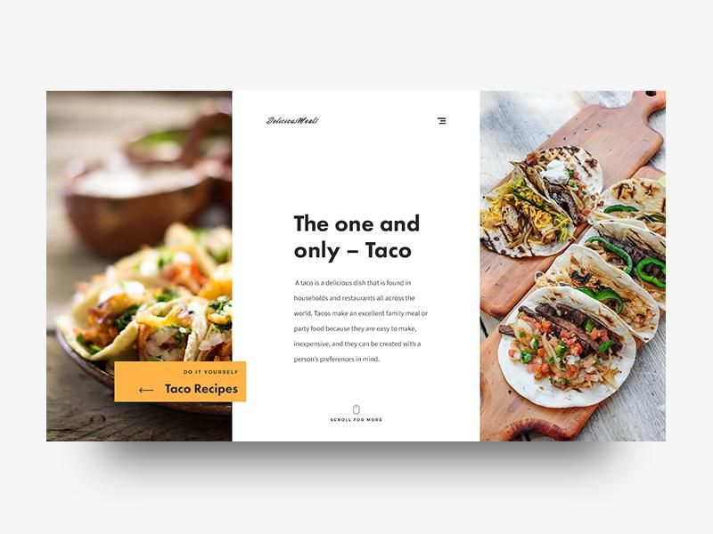 My first skillshare project  -  DeliciousMeals - image 1 - student project