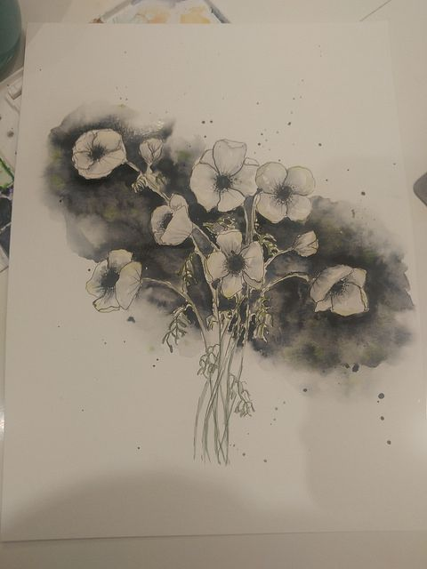 White Flowers - image 1 - student project