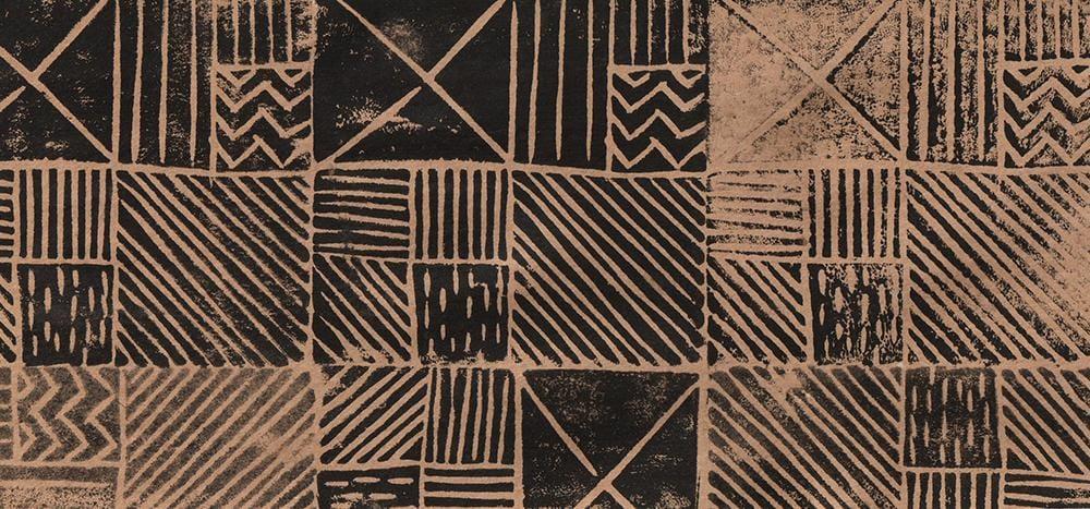 Geometric Linocut Patterns - image 6 - student project