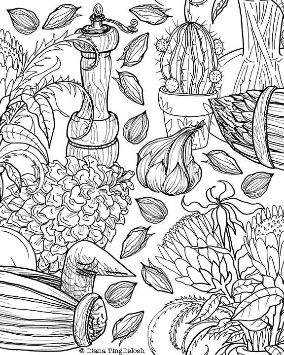 Proteas Pattern - image 2 - student project