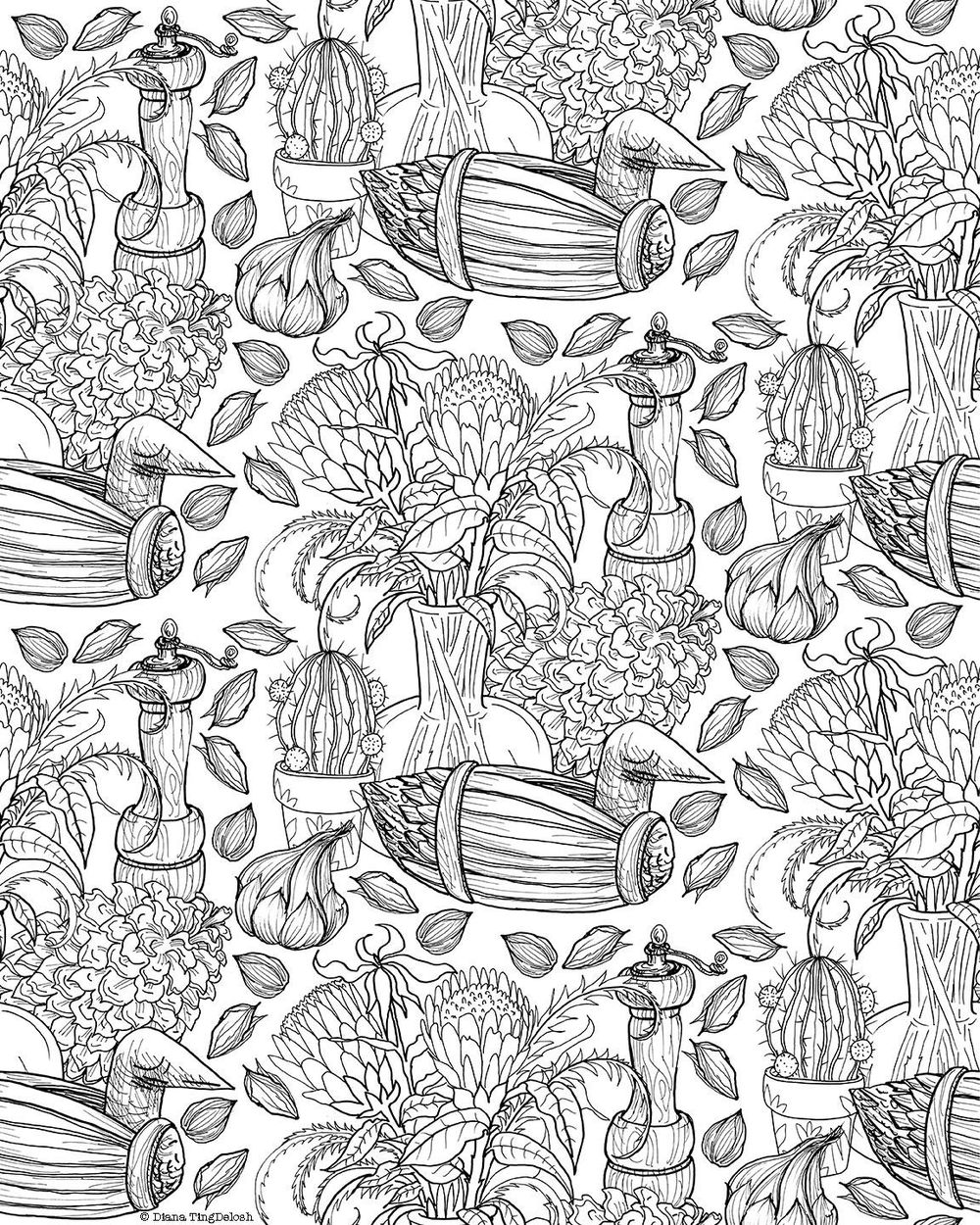 Proteas Pattern - image 3 - student project