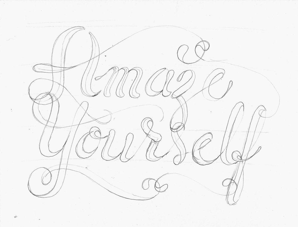 Hand Lettering Steps and Version Ideas - image 2 - student project