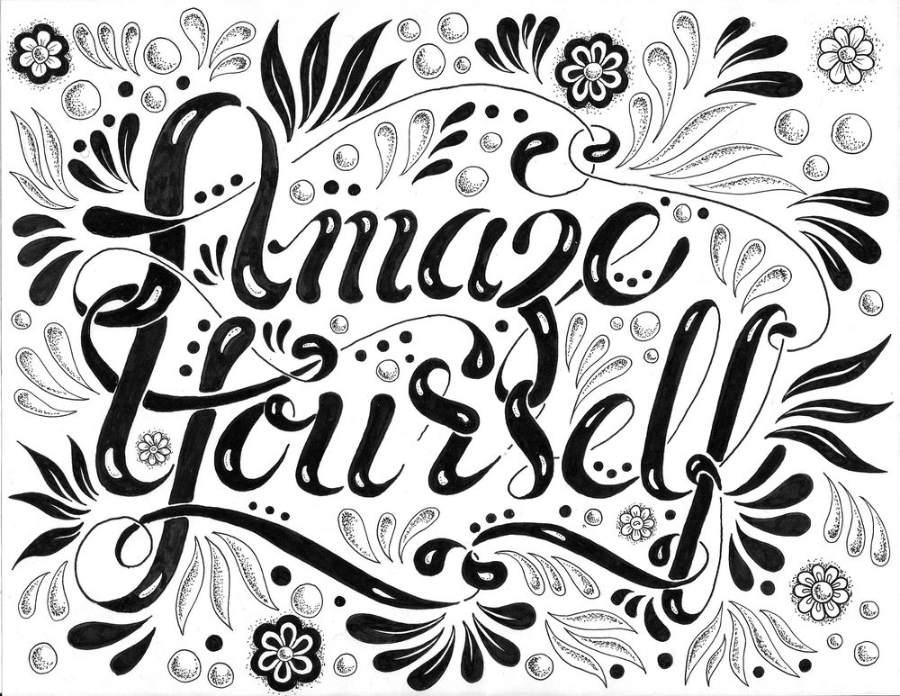 Hand Lettering Steps and Version Ideas - image 5 - student project