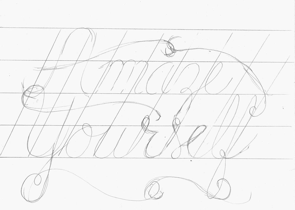 Hand Lettering Steps and Version Ideas - image 1 - student project