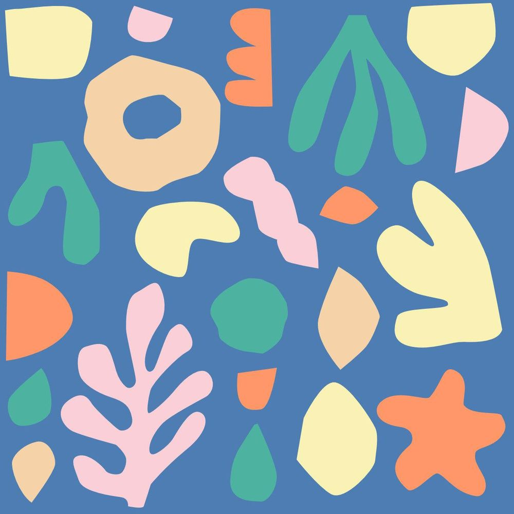 Under The Sea Abstract Shapes - image 5 - student project