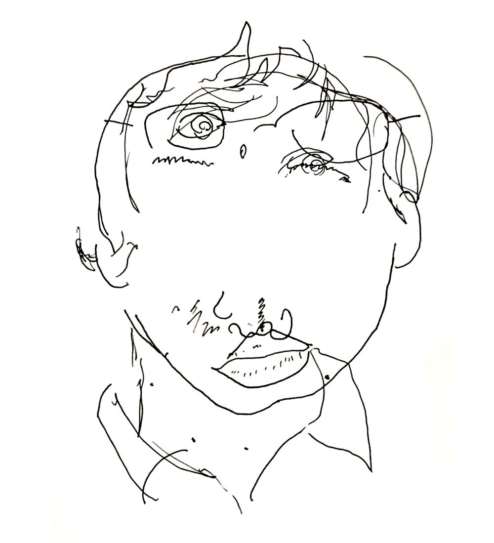 – Blind Contour – - image 1 - student project
