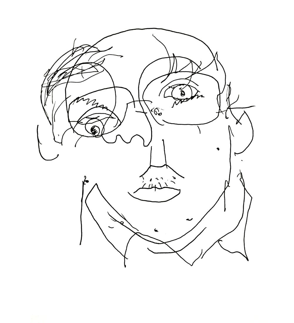 – Blind Contour – - image 2 - student project