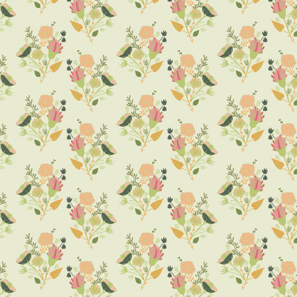 Surface Pattern Design 1 - image 10 - student project