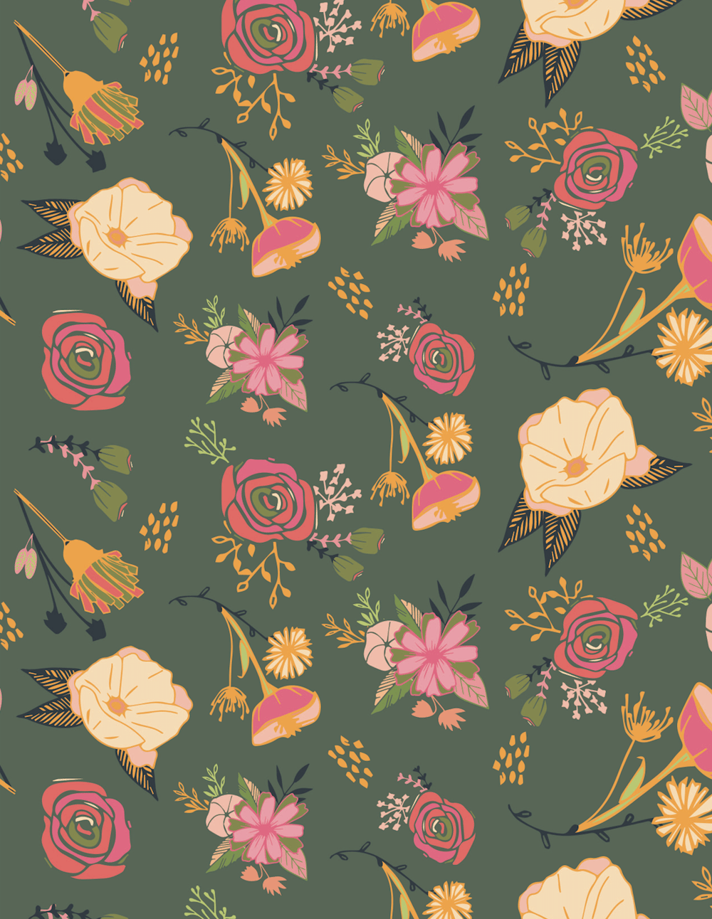 Surface Pattern Design 1 - image 9 - student project