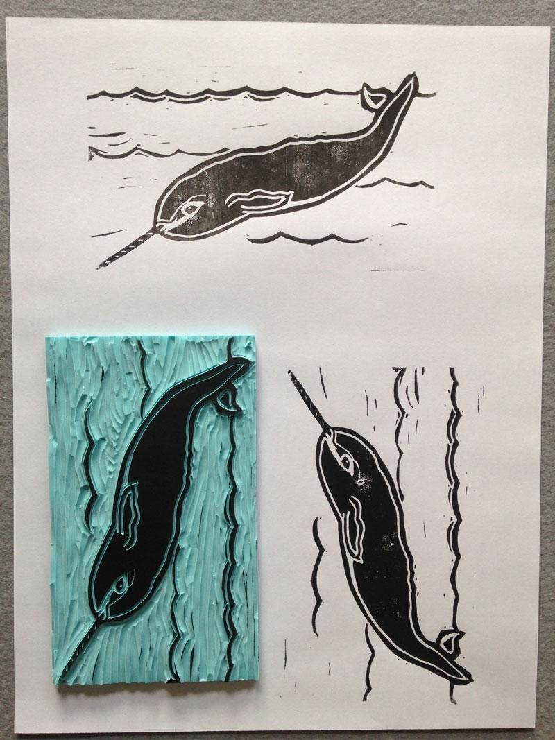 Narwhal Prints - image 2 - student project