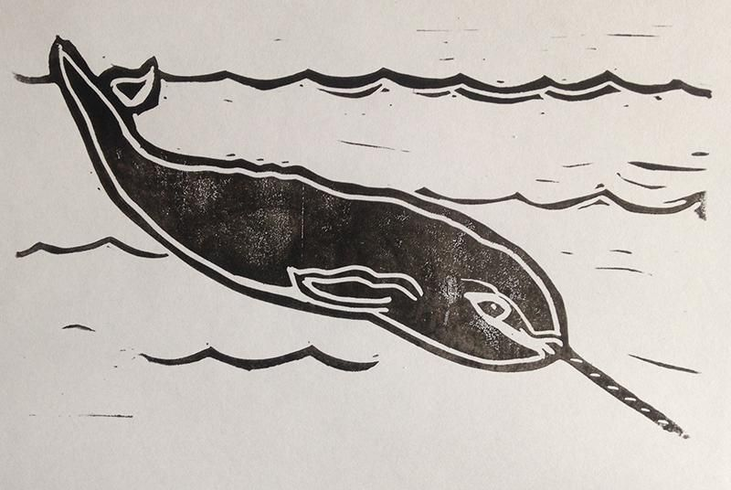 Narwhal Prints - image 3 - student project
