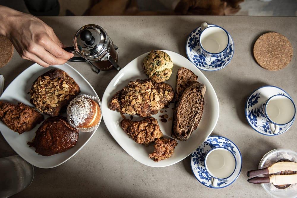 Seylou Bakery brunch after Farmers Market visit - image 2 - student project