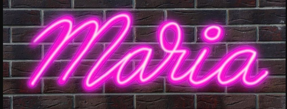 My neon name ;) - image 1 - student project