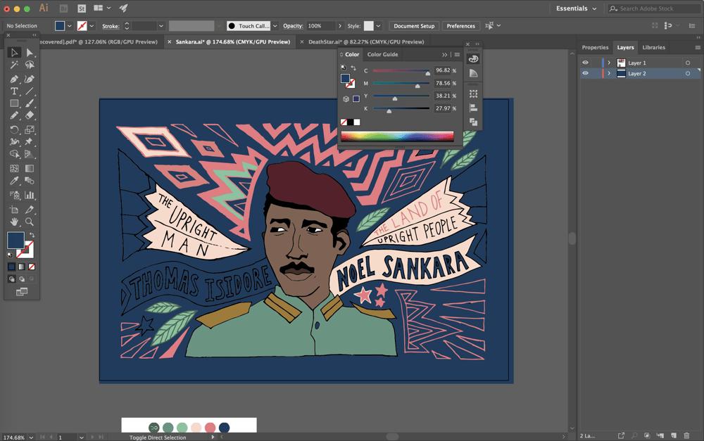 Thomas Sankara - image 2 - student project