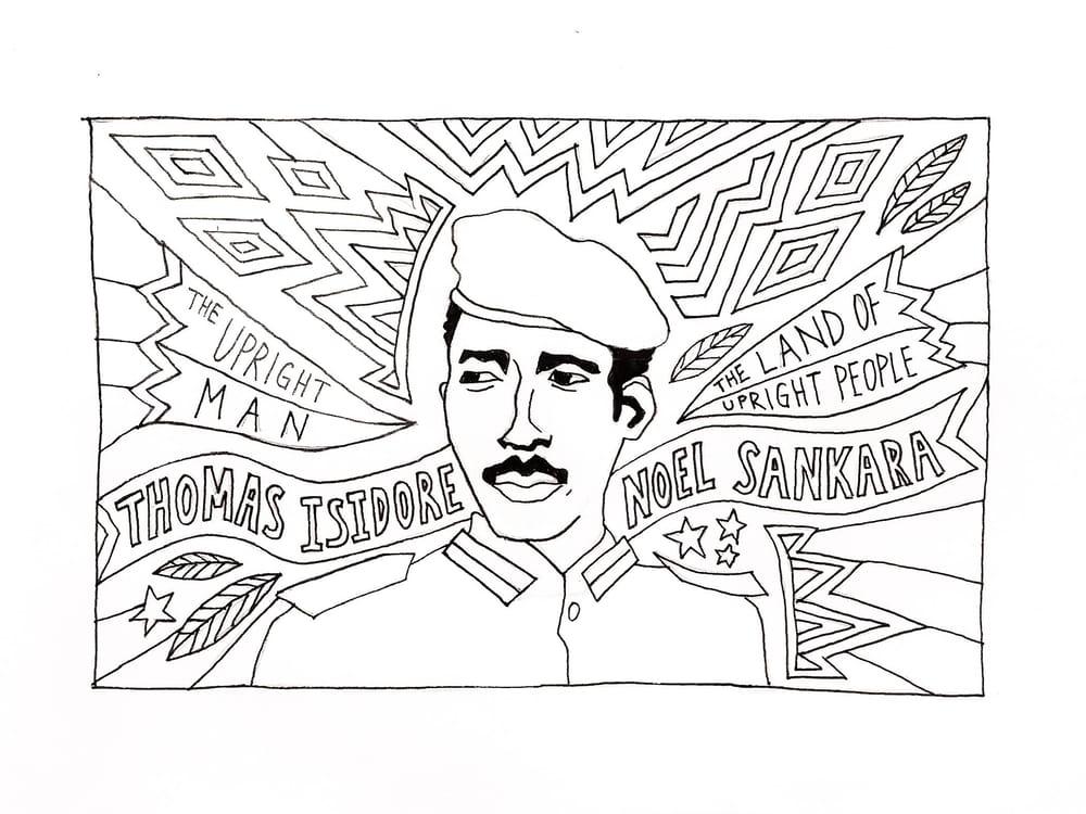 Thomas Sankara - image 1 - student project