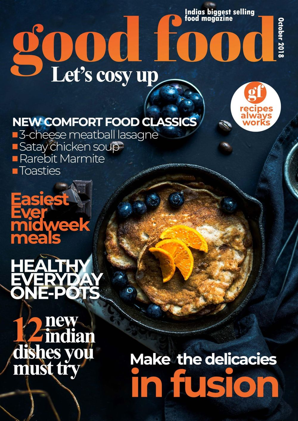 Food Magazine - image 1 - student project