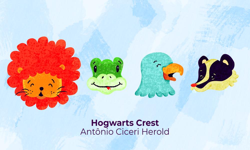 Harry Potter - Hogwarts Crest - image 1 - student project