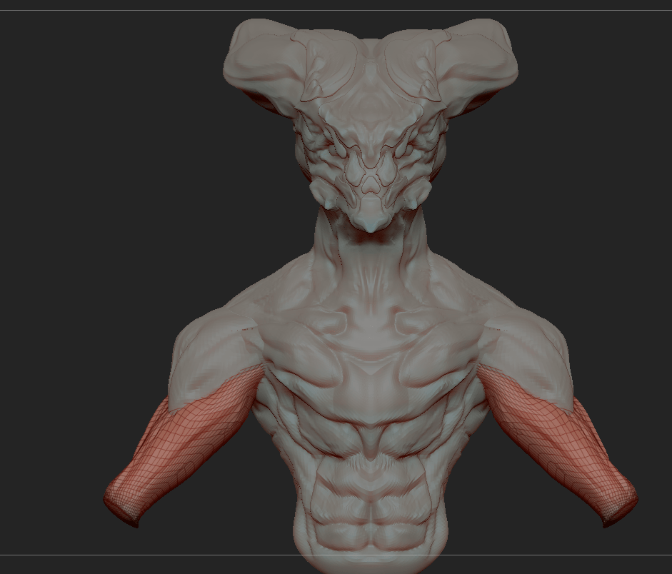 First Attempt with Zbrush - image 2 - student project