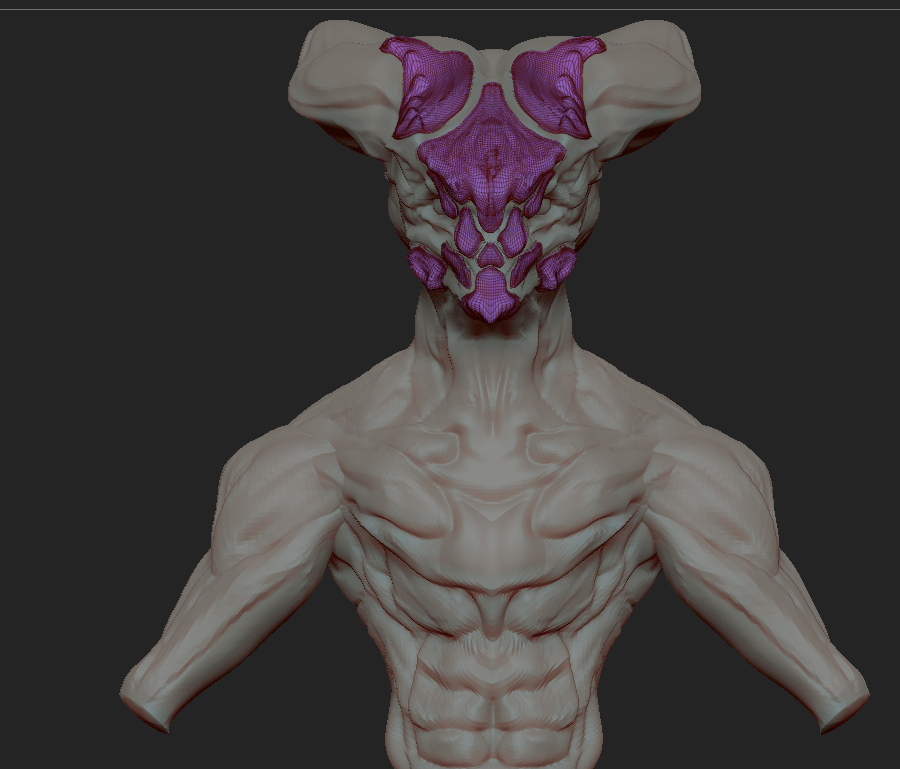 First Attempt with Zbrush - image 3 - student project