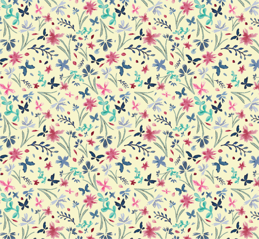 Designing Focal Point Prints: Design 3 Patterns in 3 Weeks - image 3 - student project