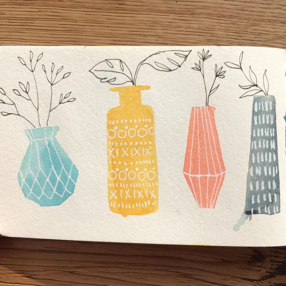 Coffee pots and Vases - image 2 - student project