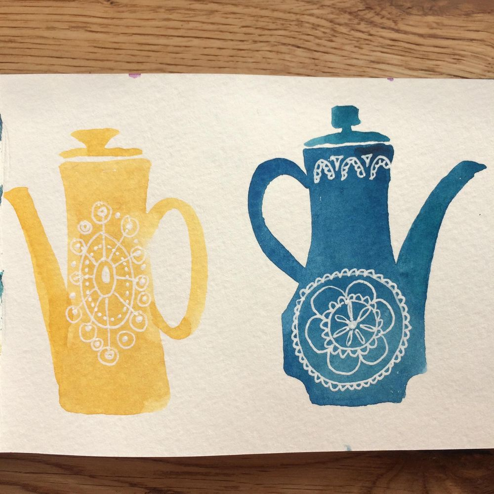 Coffee pots and Vases - image 1 - student project