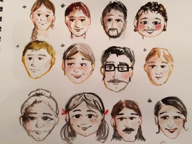 Little faces - image 1 - student project