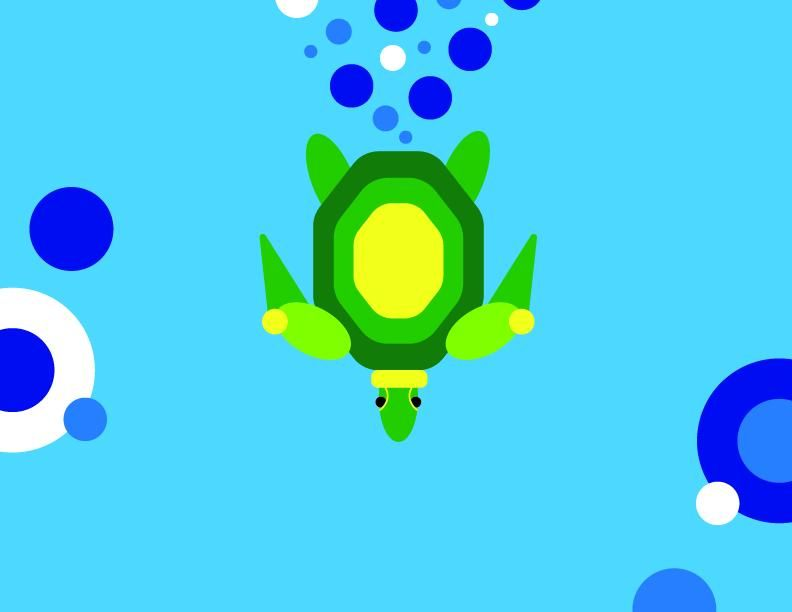 Simple Turtle - image 1 - student project