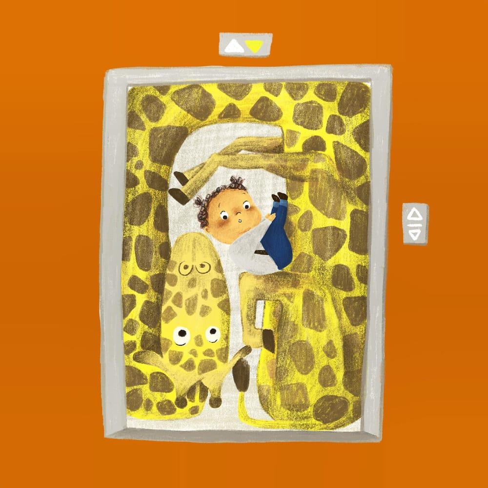 Children's book illustration - image 1 - student project