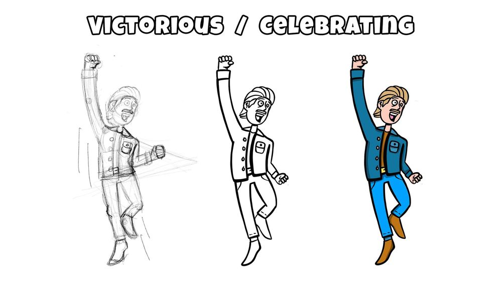 Victorious / Celebrating - image 1 - student project