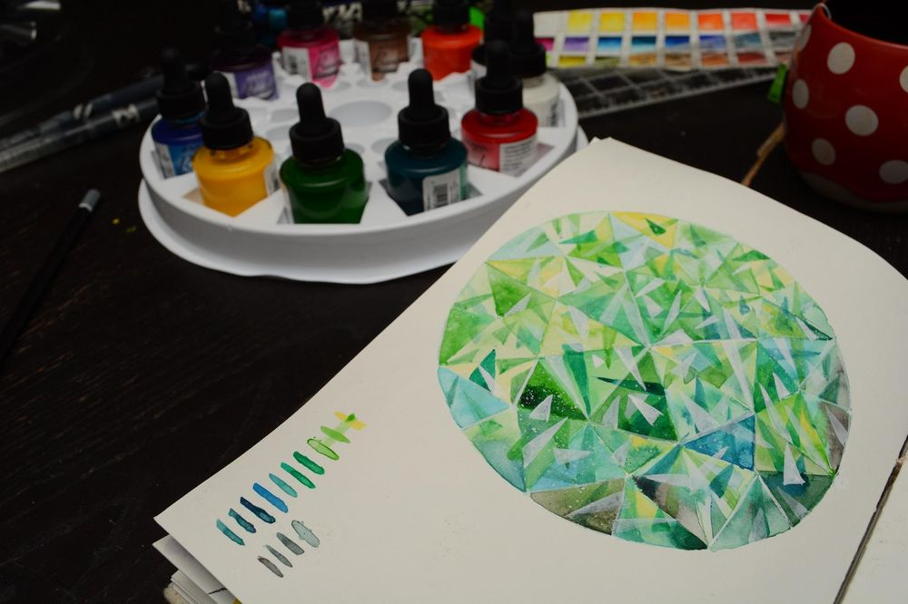 Lots of color and sparkles - image 3 - student project