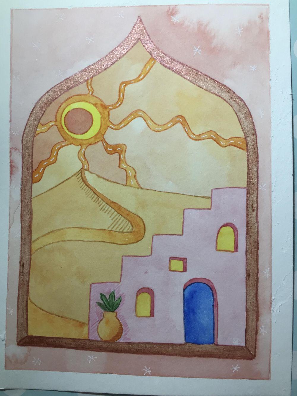 Mystical landscapes - image 2 - student project