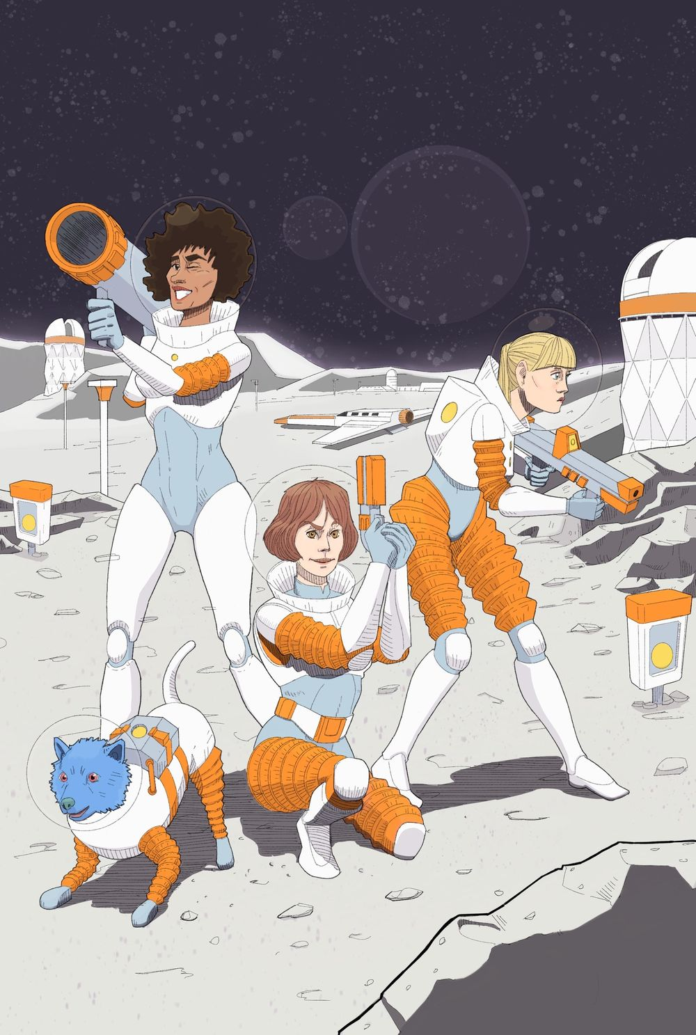 Space Girls - image 1 - student project