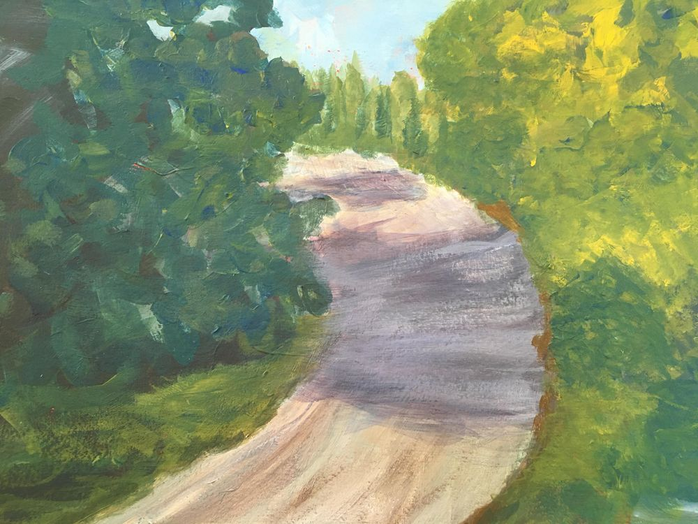 acrylic painting for beginners - image 1 - student project