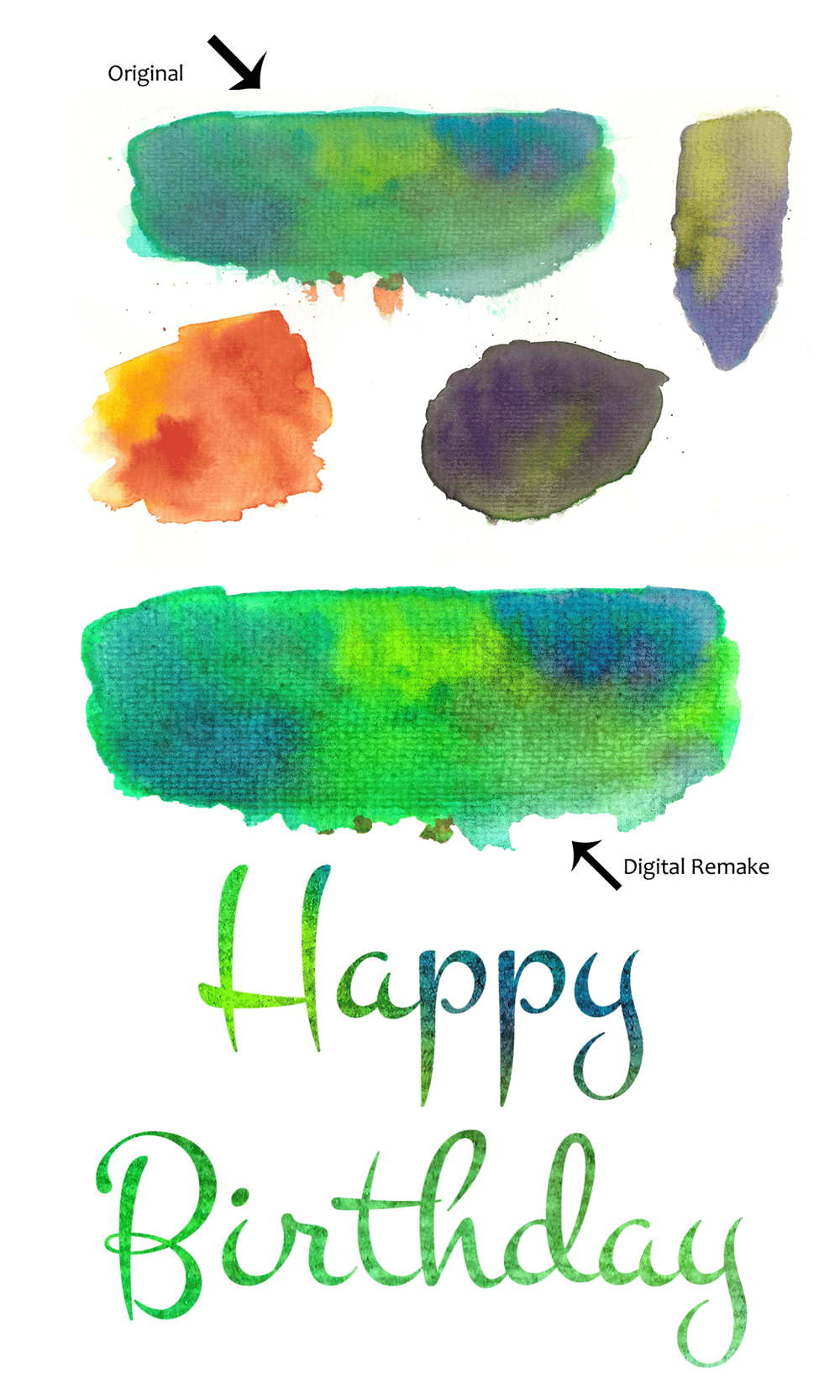 Watercolor Textures - image 1 - student project