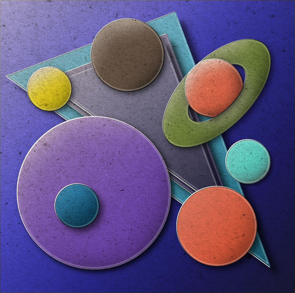 Paper pop-up Space Balls - image 1 - student project