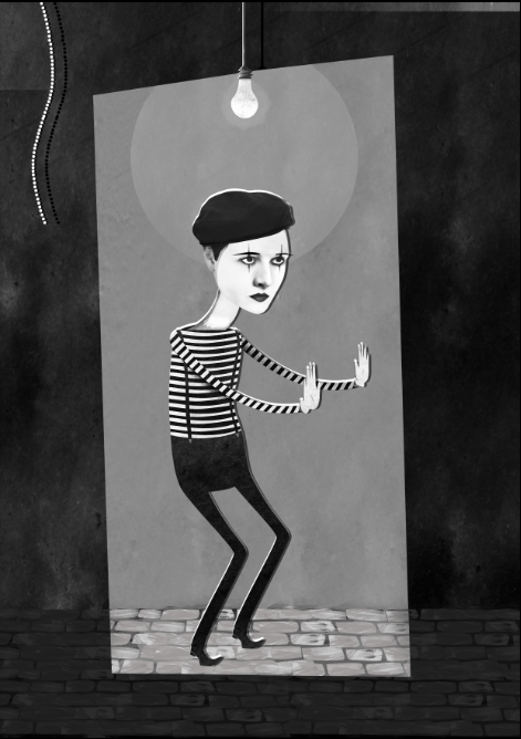 Mime - image 1 - student project