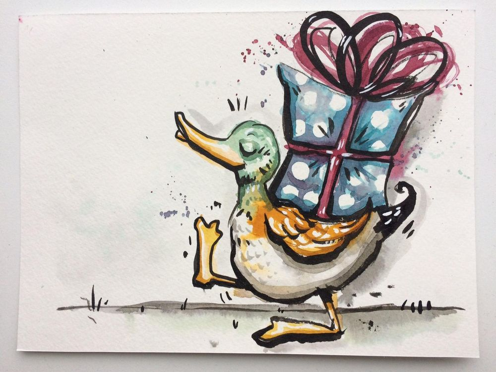 Delivery duck - image 5 - student project