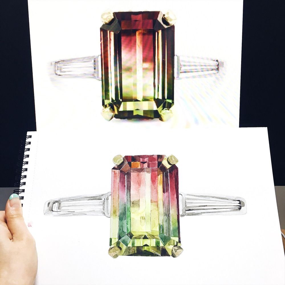 Addicted to Gem painting - image 4 - student project