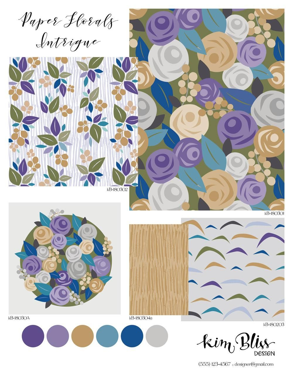 Kim's Design Sheet - image 1 - student project