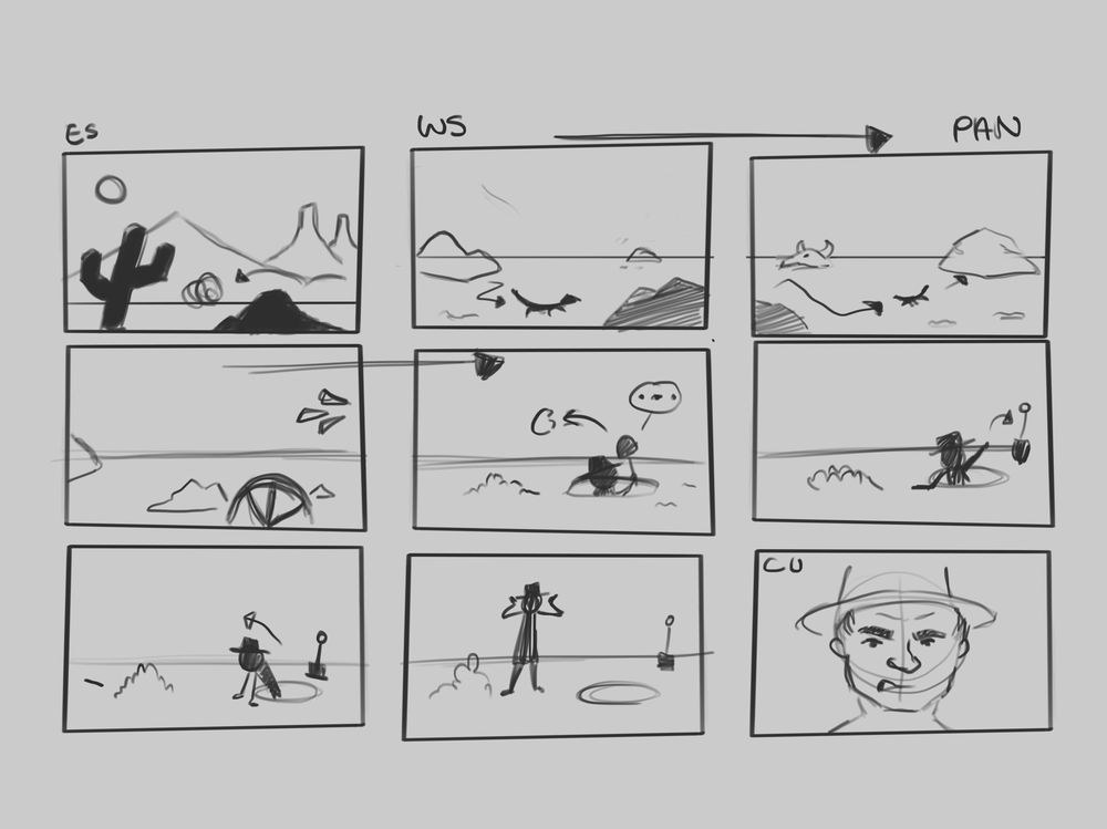 Project storyboards - image 1 - student project