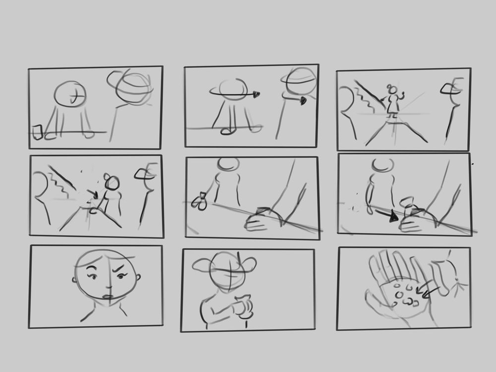 Project storyboards - image 2 - student project