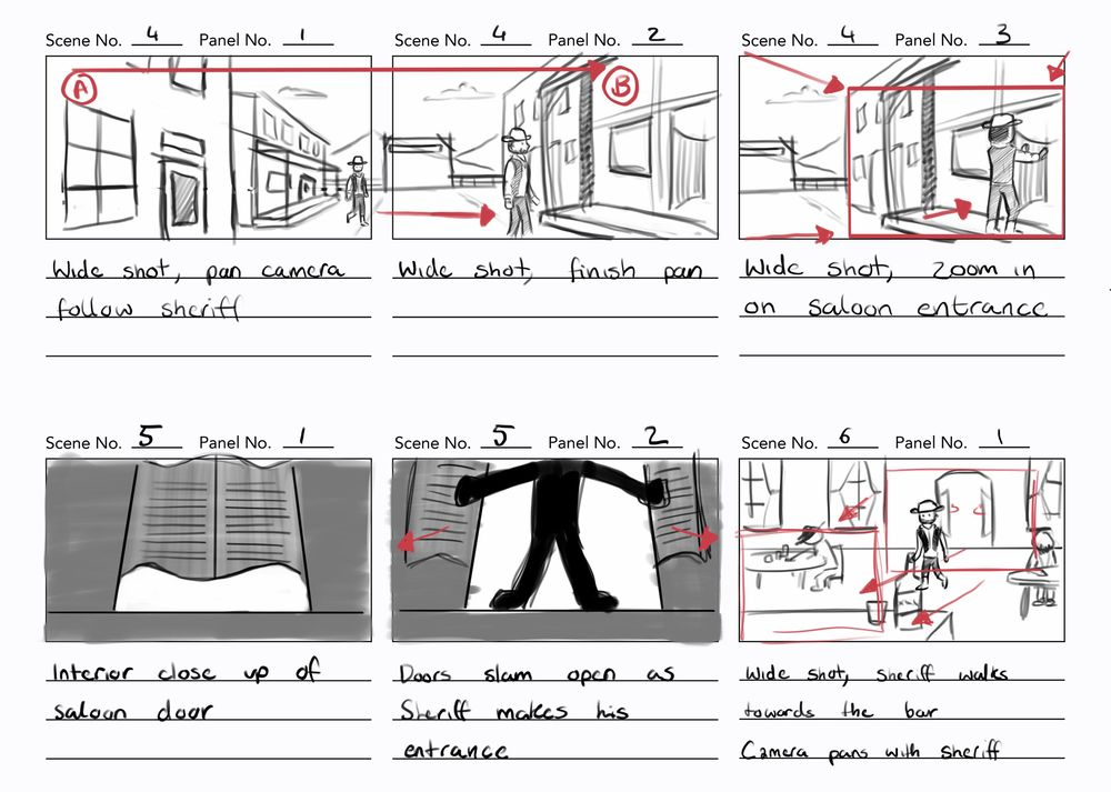 Project storyboards - image 6 - student project