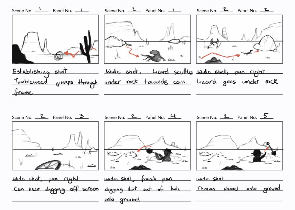 Project storyboards - image 4 - student project