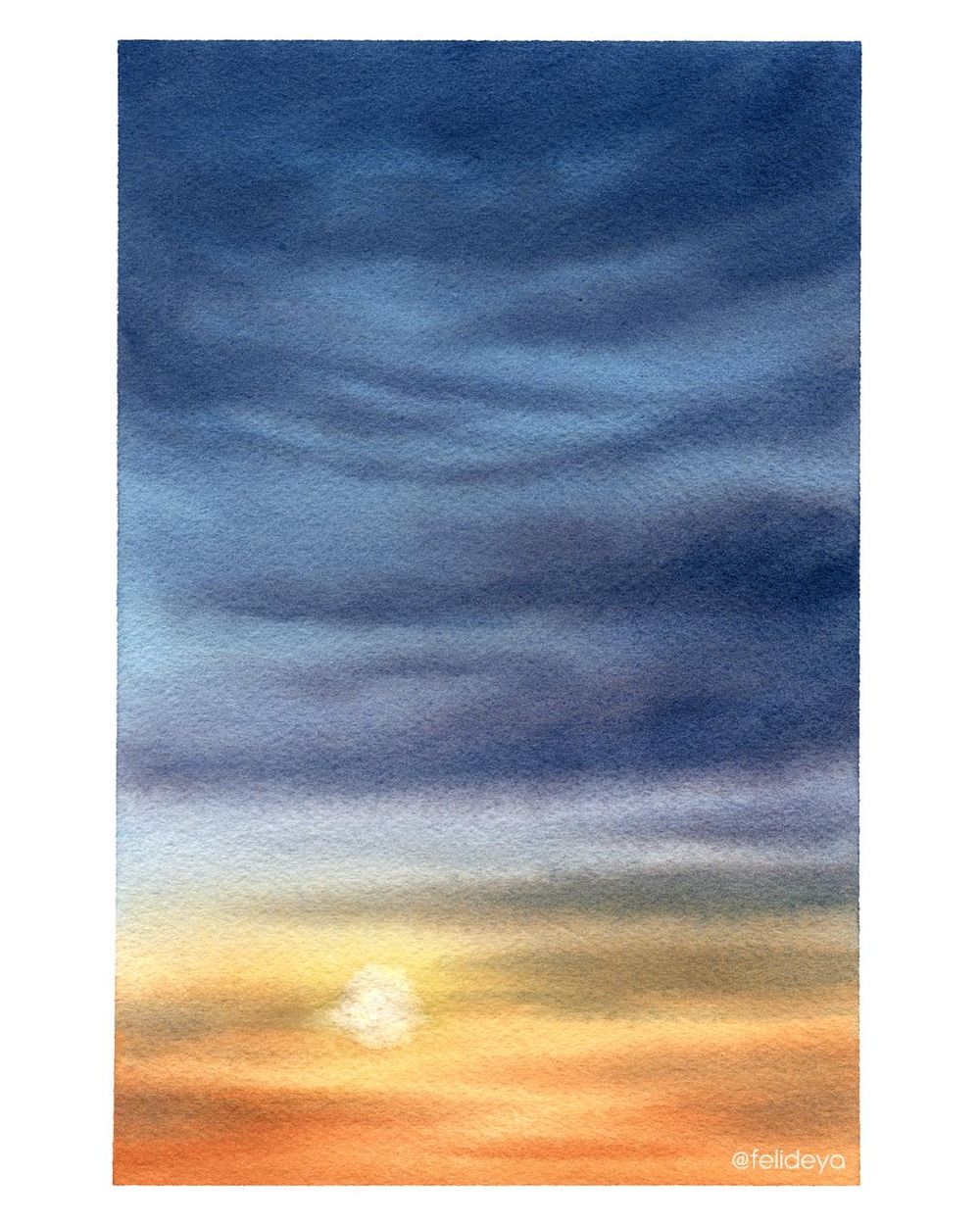 Sunset Sky - image 1 - student project