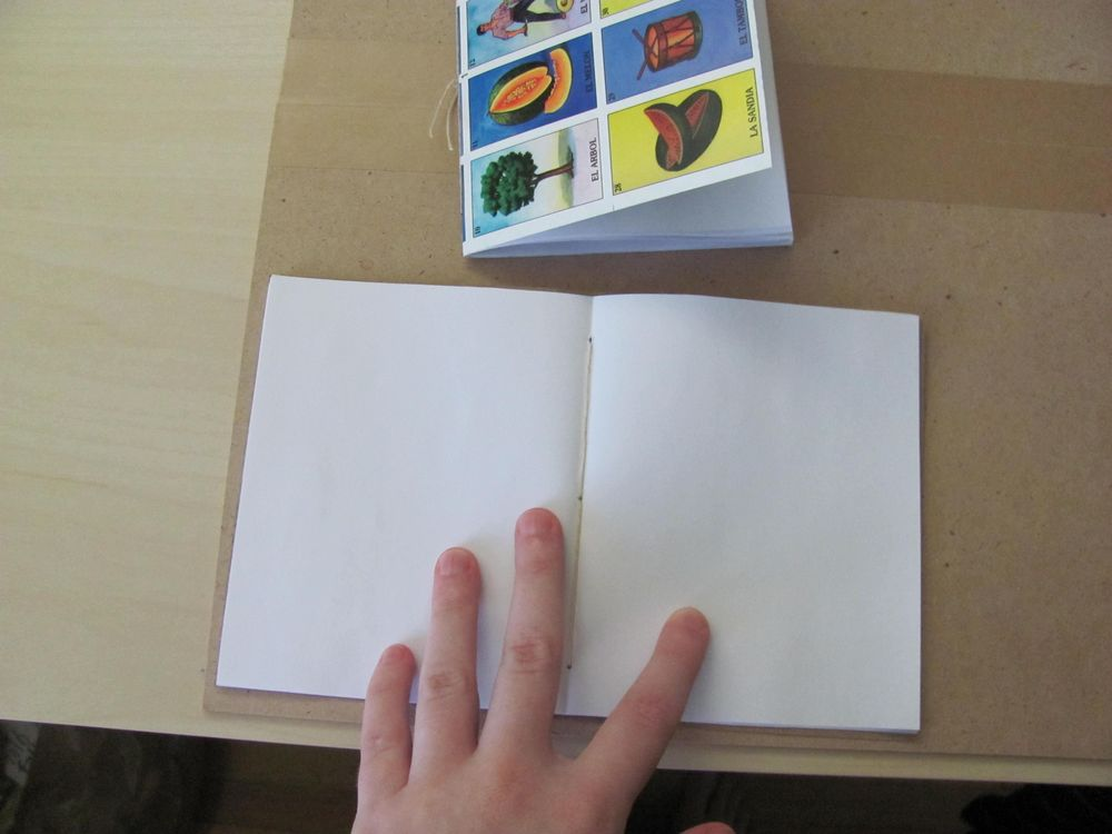 Loteria pocket notebook - image 1 - student project